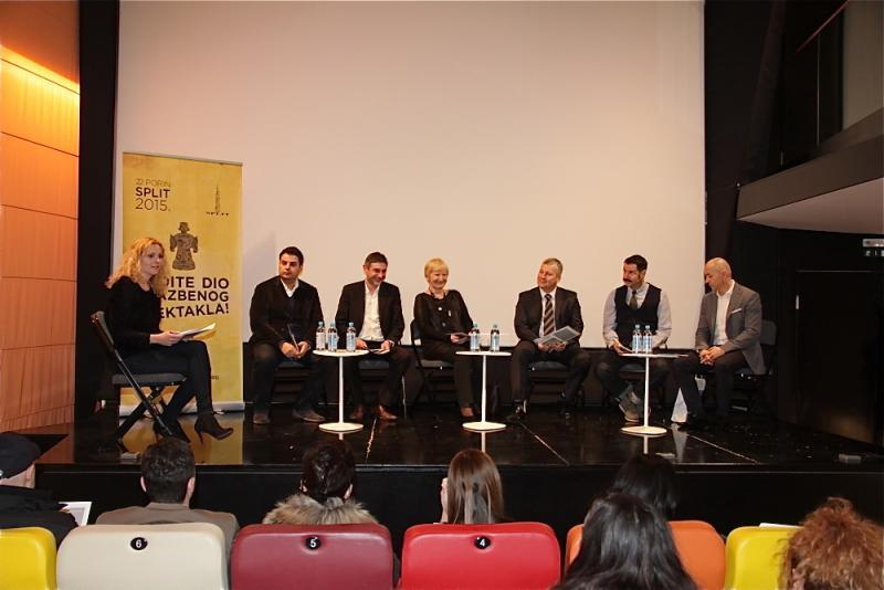 Na panel diskusiji sudjelovalo je petero govornika (Foto: Dario Njavro)